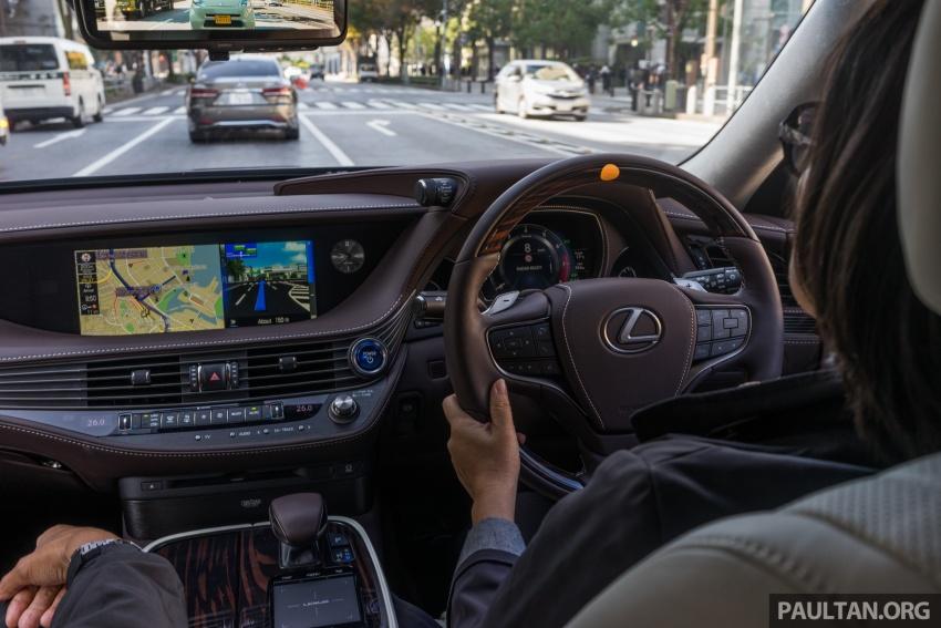 DRIVEN: 2018 Lexus LS – we test its semi-autonomous driving features on the highways of Yokohama Image #760491
