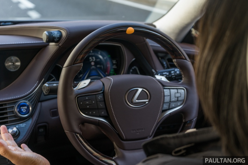 DRIVEN: 2018 Lexus LS – we test its semi-autonomous driving features on the highways of Yokohama Image #760493