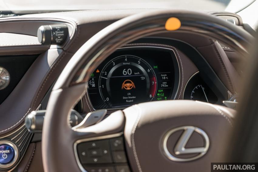 DRIVEN: 2018 Lexus LS – we test its semi-autonomous driving features on the highways of Yokohama Image #760498