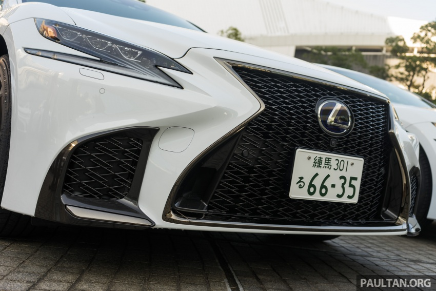 DRIVEN: 2018 Lexus LS – we test its semi-autonomous driving features on the highways of Yokohama Image #760434