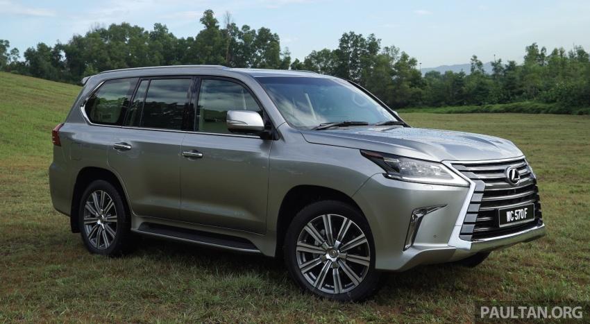 Lexus LX570 price drops by RM74k in M'sia to RM850k Image #767765