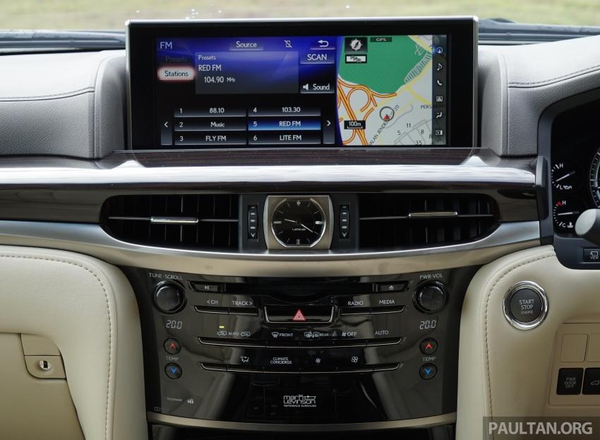 Lexus LX570 price drops by RM74k in M'sia to RM850k Image #767768
