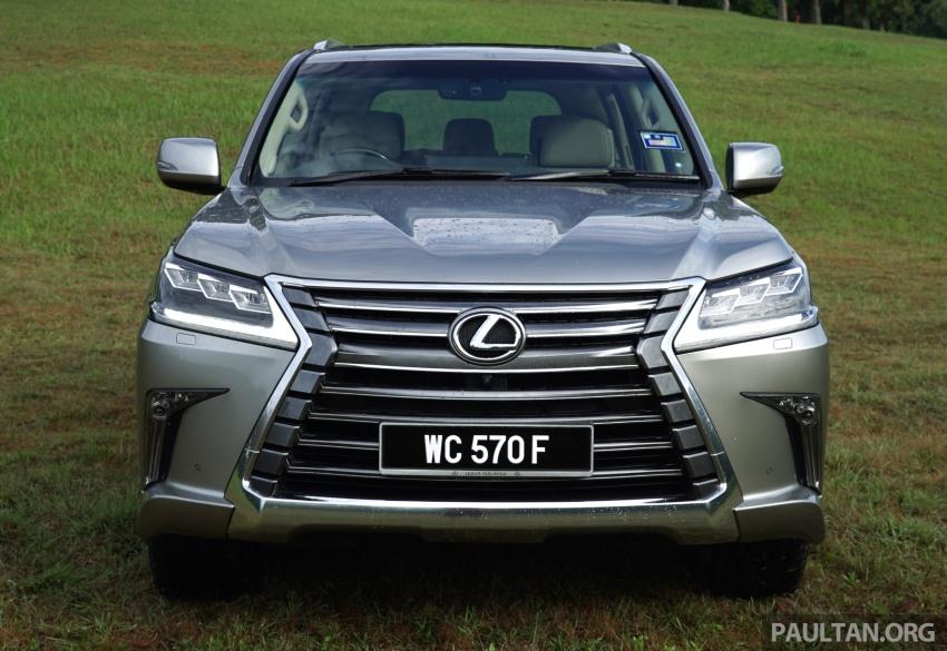 Lexus LX570 price drops by RM74k in M'sia to RM850k Image #767816