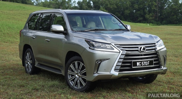 Captivating The Lexus LX570 Has Just Received A Significant Price Drop In Malaysia.  Launched At RM923,960 In 2015, The Flagship SUV Now Goes For RM850,000, ...