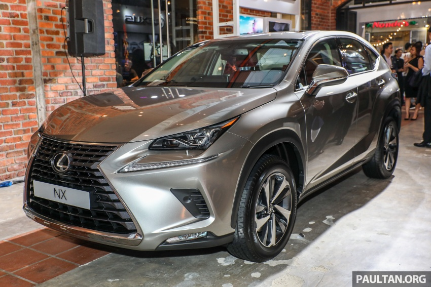 Lexus Malaysia previews RX 350L seven-seater, updated NX 300 facelift range – SUVs from RM312k Image #770142