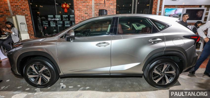 Lexus RX 350L dan NX 300 2018 kini dipertontonkan di Malaysia – harga bermula dari RM312k hingga RM475k Image #770175