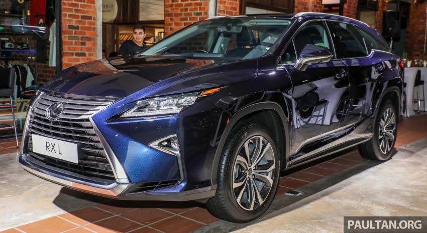 Lexus Malaysia previews RX 350L seven-seater, updated NX 300 facelift range – SUVs from RM312k Image #770152