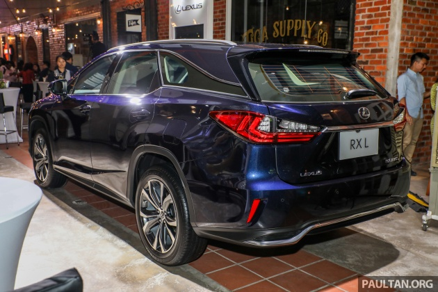 Lexus Malaysia Previews Rx 350l Seven Seater Updated Nx 300