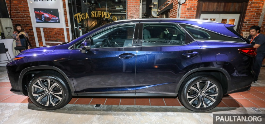 Lexus Malaysia previews RX 350L seven-seater, updated NX 300 facelift range – SUVs from RM312k Image #770154