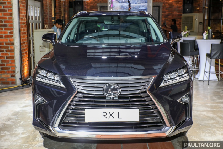 Lexus RX 350L dan NX 300 2018 kini dipertontonkan di Malaysia – harga bermula dari RM312k hingga RM475k Image #770166