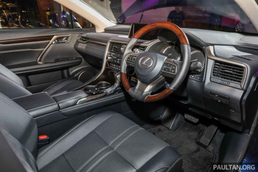 Lexus RX 350L dan NX 300 2018 kini dipertontonkan di Malaysia – harga bermula dari RM312k hingga RM475k Image #770168
