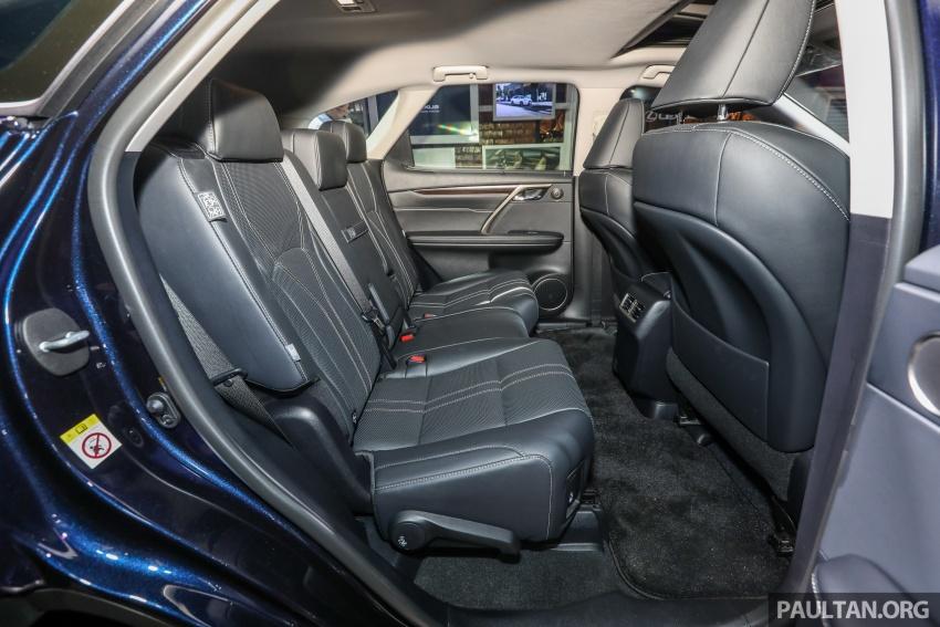 Lexus RX 350L dan NX 300 2018 kini dipertontonkan di Malaysia – harga bermula dari RM312k hingga RM475k Image #770170