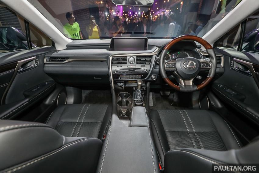 Lexus RX 350L dan NX 300 2018 kini dipertontonkan di Malaysia – harga bermula dari RM312k hingga RM475k Image #770171