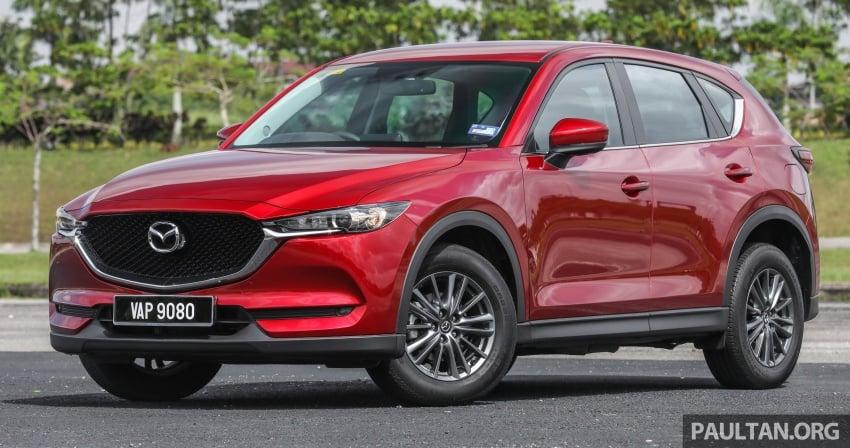 Mazda CX-5 – spec-by-spec comparison, full galleries Image #772590