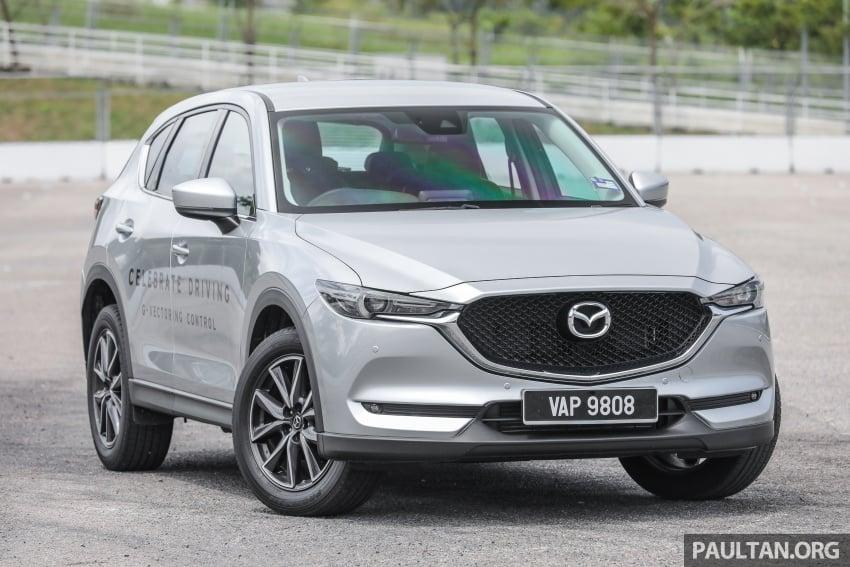 Mazda CX-5 – spec-by-spec comparison, full galleries Image #772509