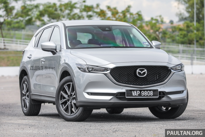 Mazda CX-5 – spec-by-spec comparison, full galleries Image #772511