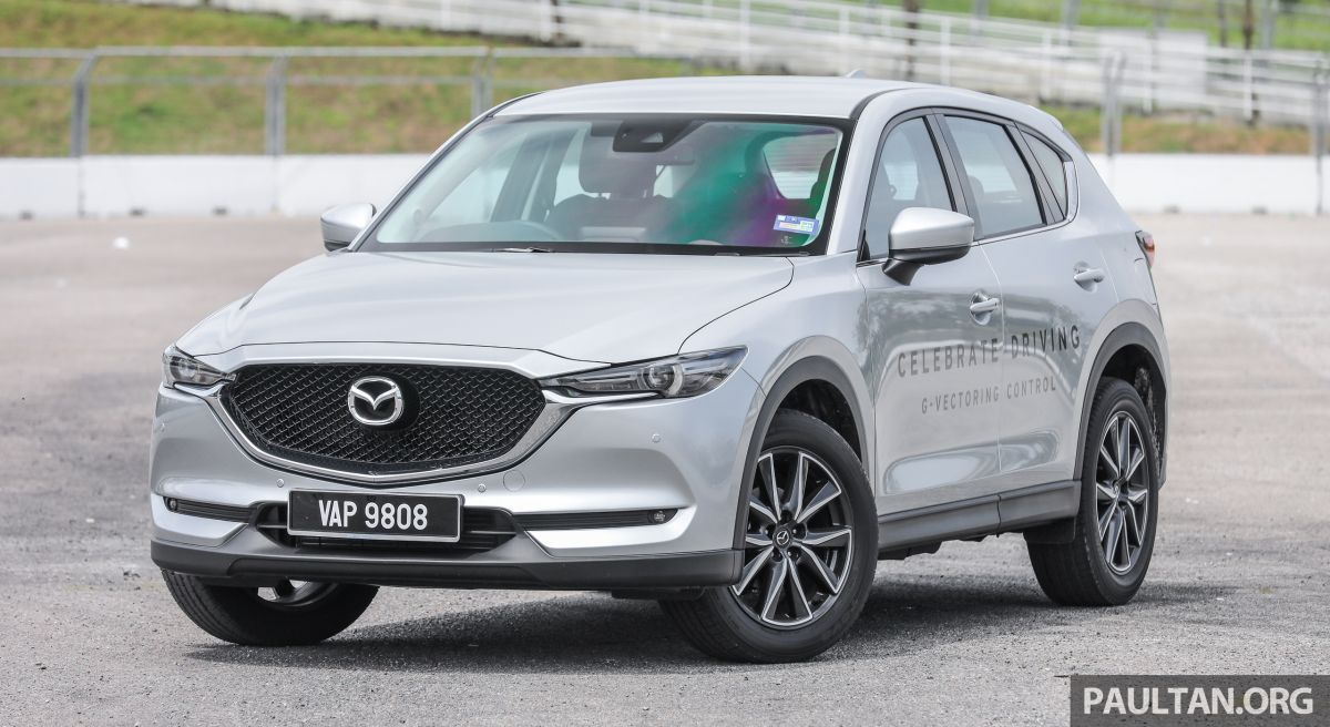 Mazda Cx 5 Now Comes With Powered Tailgate In M Sia Cx 9 Gains 360
