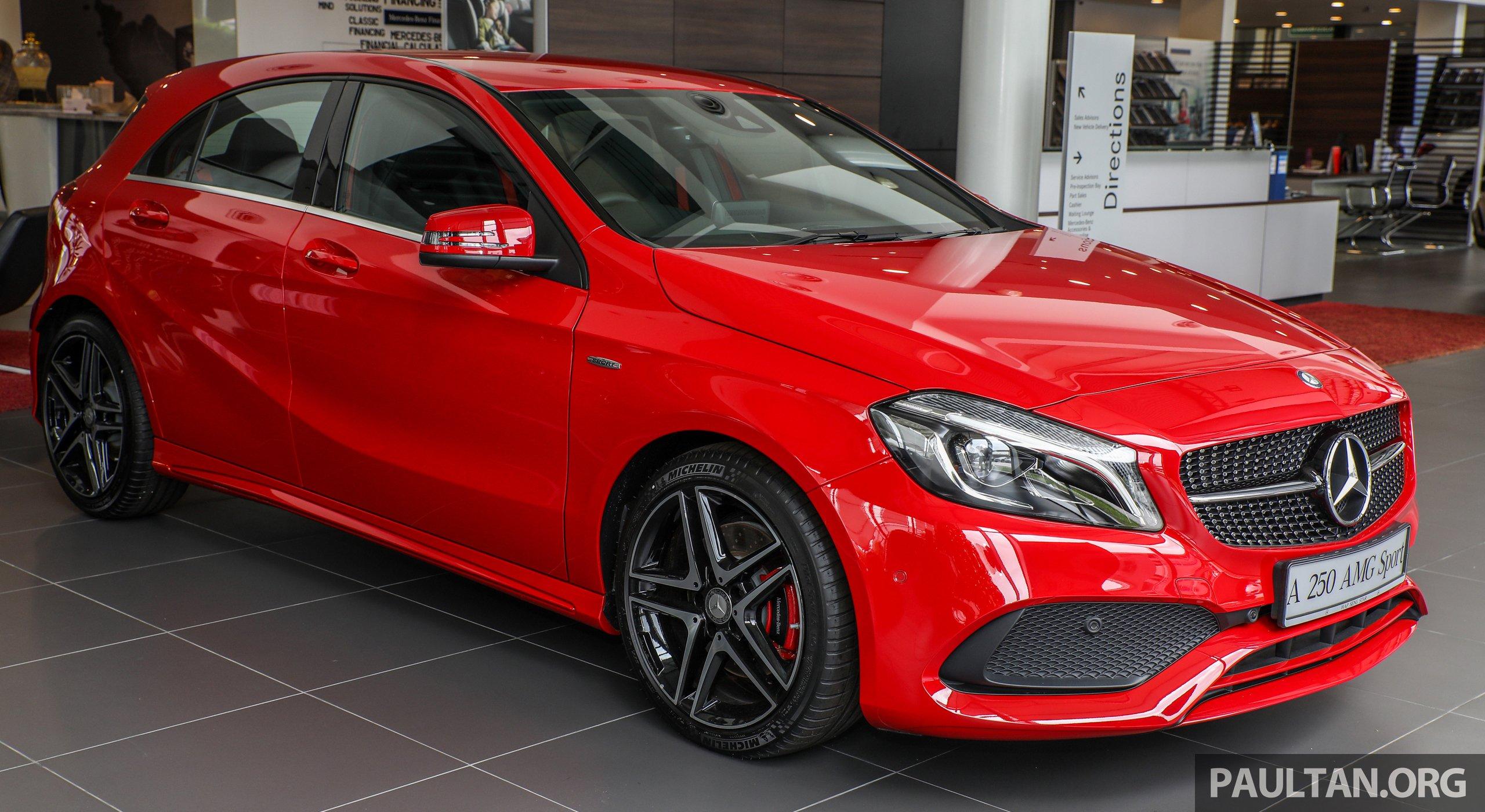 Galeri mercedes benz a250 sport kini dapat 218 hp for Mercedes benz a250 sport for sale