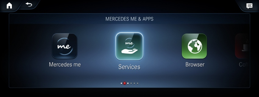 Mercedes-Benz User Experience detailed, previewed Image #767477