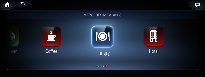 Mercedes-Benz User Experience detailed, previewed Image #767478