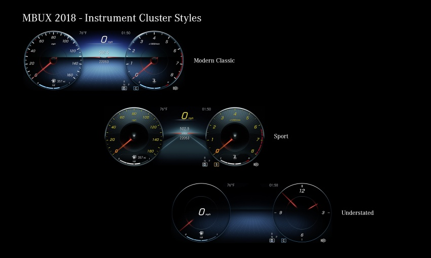 Mercedes-Benz User Experience detailed, previewed Image #767479