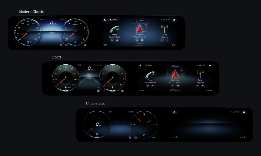 Mercedes-Benz User Experience detailed, previewed Image #767482