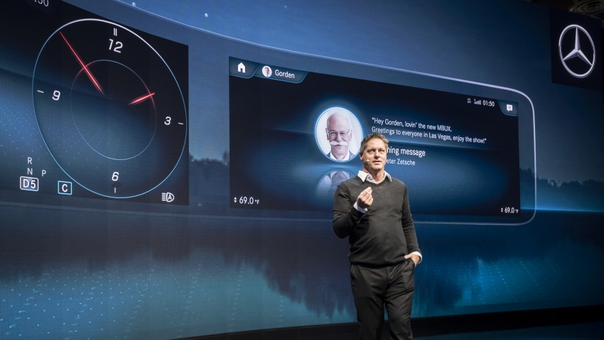 Mercedes-Benz User Experience detailed, previewed Image #767494