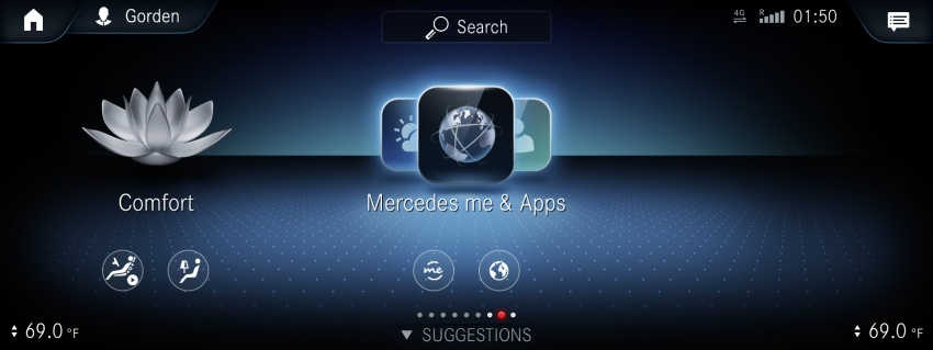 Mercedes-Benz User Experience detailed, previewed Image #767474