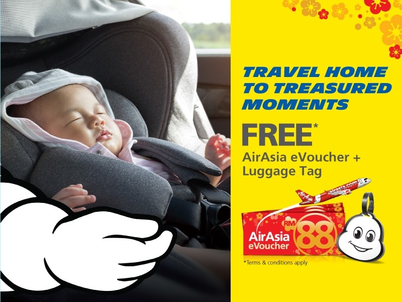 Ad Purchase Four New Michelin Tyres This Cny And Receive A Free Air Asia Evoucher Worth Rm88