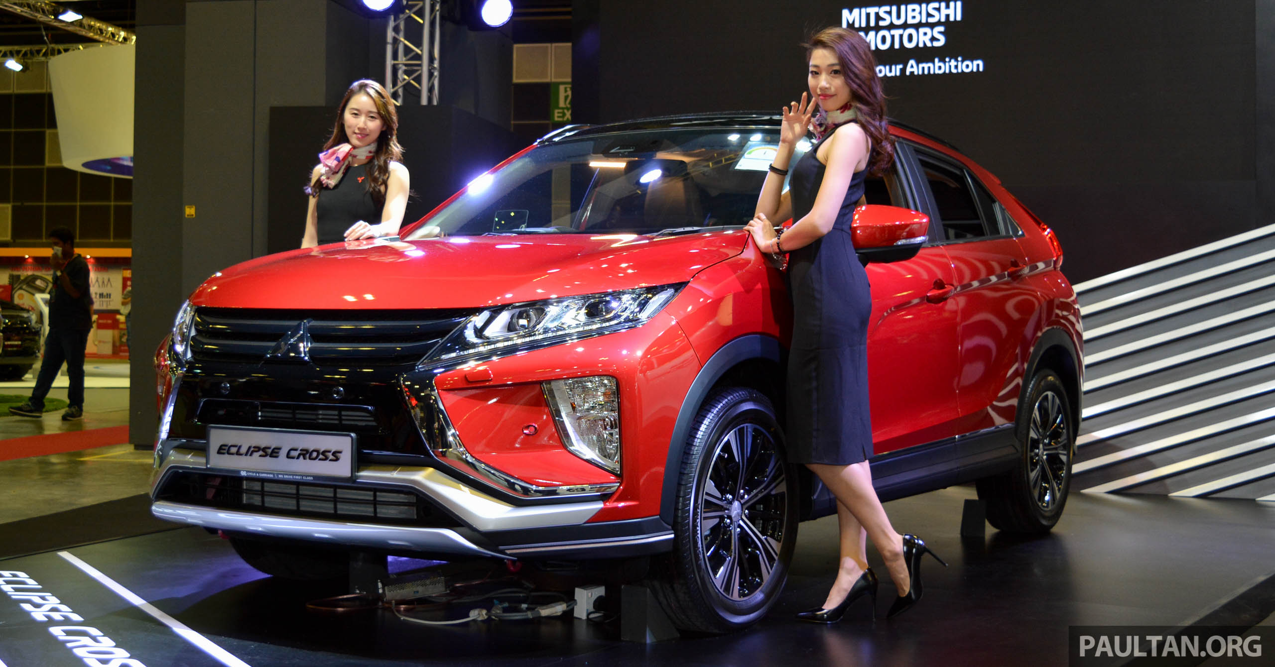 mitsubishi eclipse cross 1 5t launched in singapore. Black Bedroom Furniture Sets. Home Design Ideas
