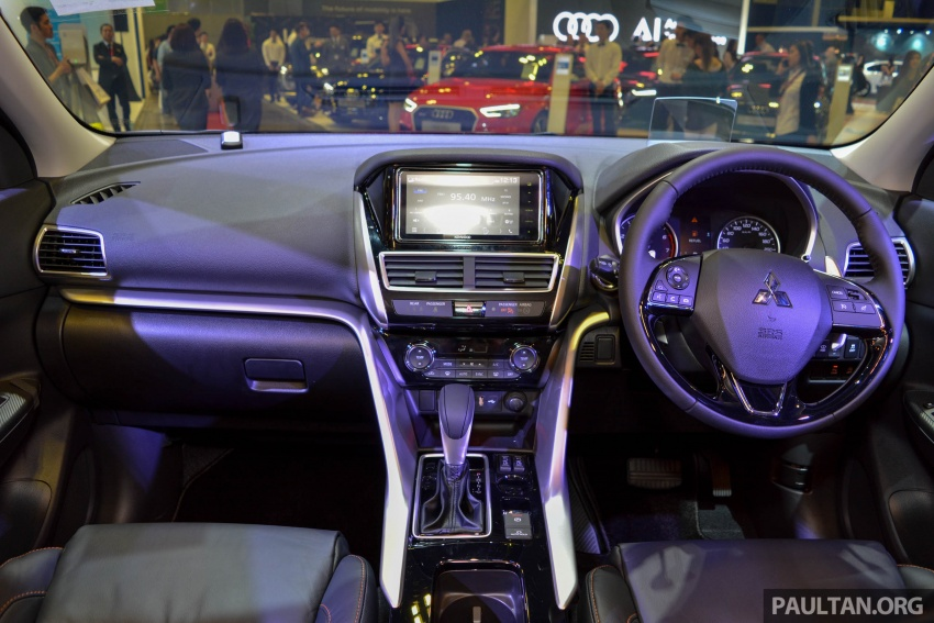 Mitsubishi Eclipse Cross buat kemunculan sulung di Singapura – 1.5L DOHC MIVEC turbo, 163 ps/250 Nm Image #760565