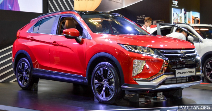 Mitsubishi Eclipse Cross 1.5T launched in Singapore Image #762179