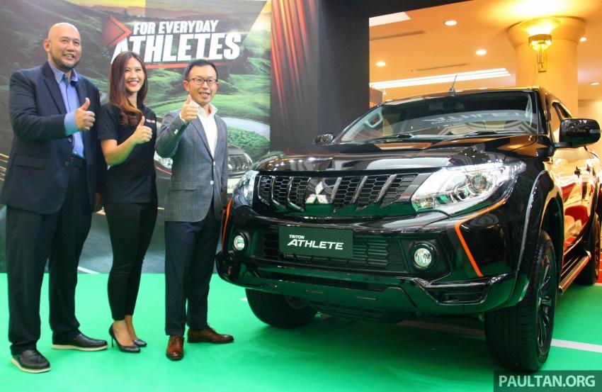Mitsubishi Triton Athlete lands in Malaysia – RM127k Image #764681