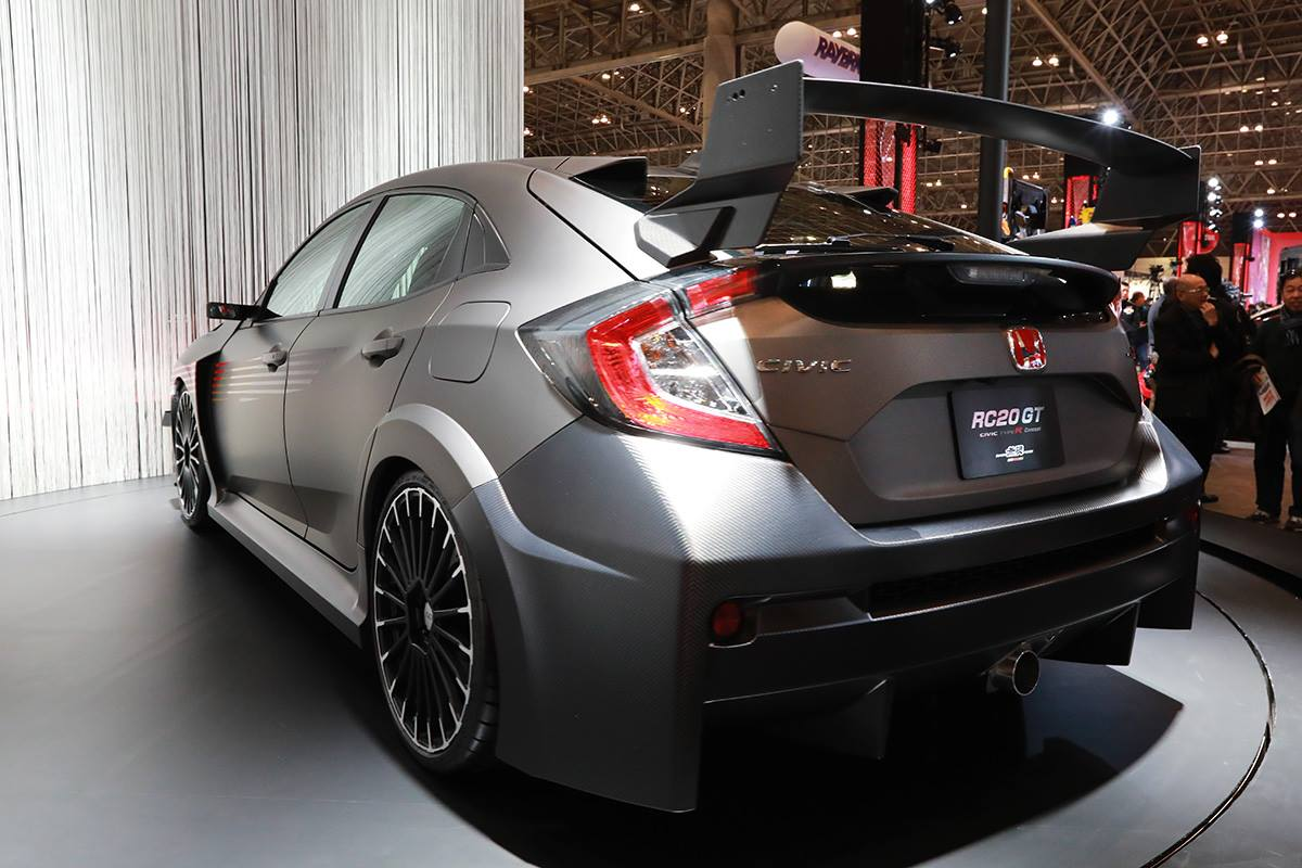Mugen RC20GT Civic Type R Concept – an ugly beast Image 761552