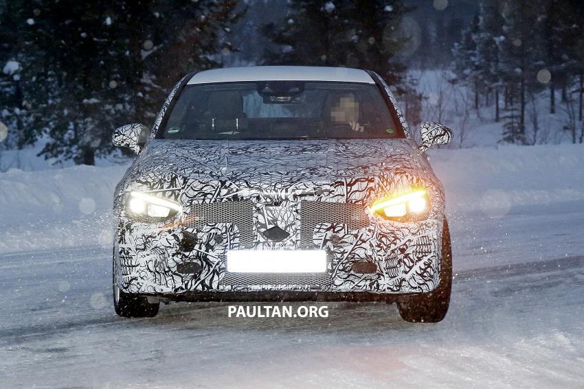SPYSHOTS: Next-gen Mercedes-Benz CLA sighted Image #766390
