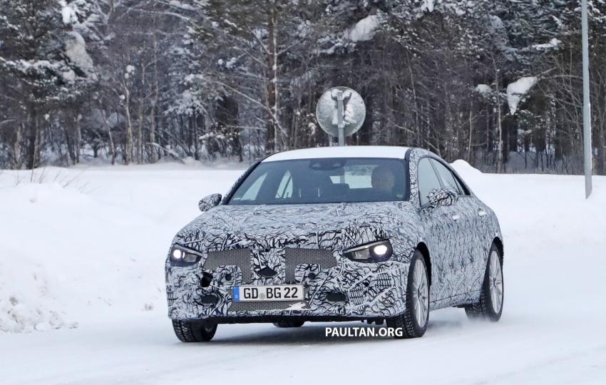 SPYSHOTS: Next-gen Mercedes-Benz CLA sighted Image #766992