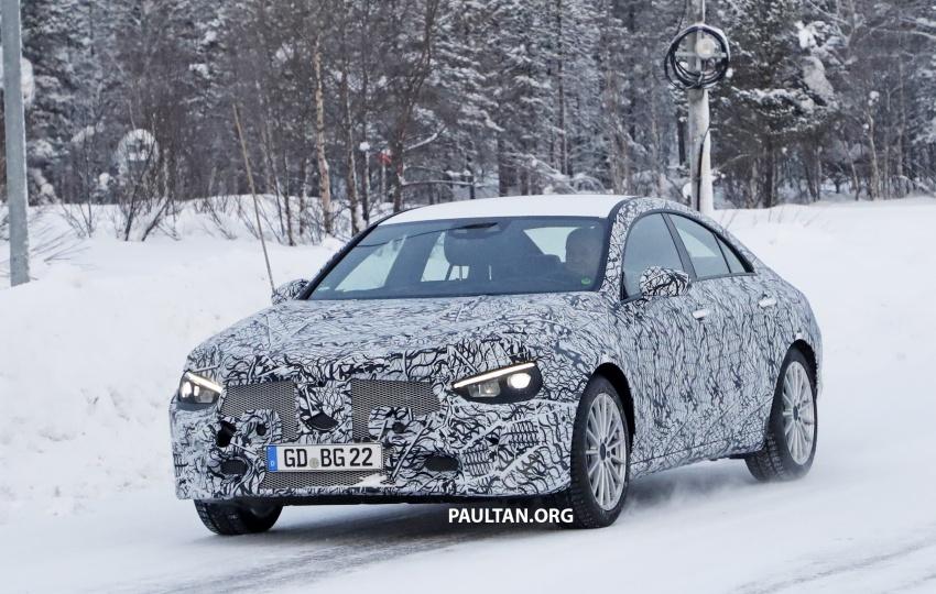 SPYSHOTS: Next-gen Mercedes-Benz CLA sighted Image #766995
