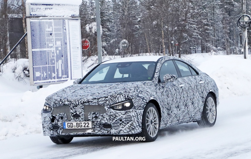 SPYSHOTS: Next-gen Mercedes-Benz CLA sighted Image #766996