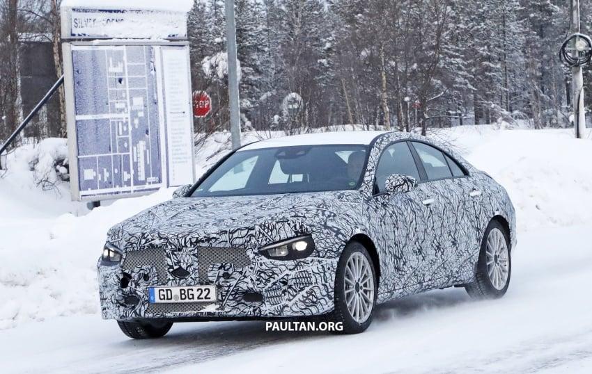 SPYSHOTS: Next-gen Mercedes-Benz CLA sighted Image #766996