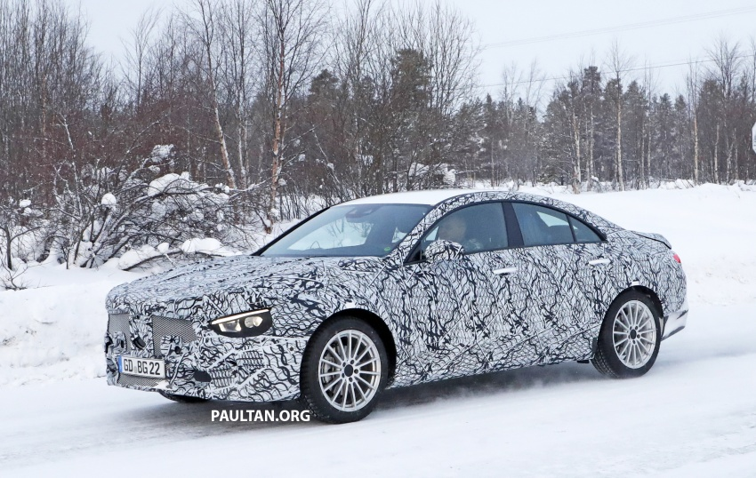 SPYSHOTS: Next-gen Mercedes-Benz CLA sighted Image #766998