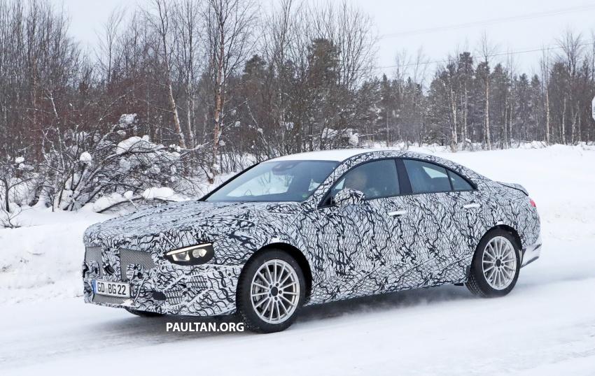 SPYSHOTS: Next-gen Mercedes-Benz CLA sighted Image #766998