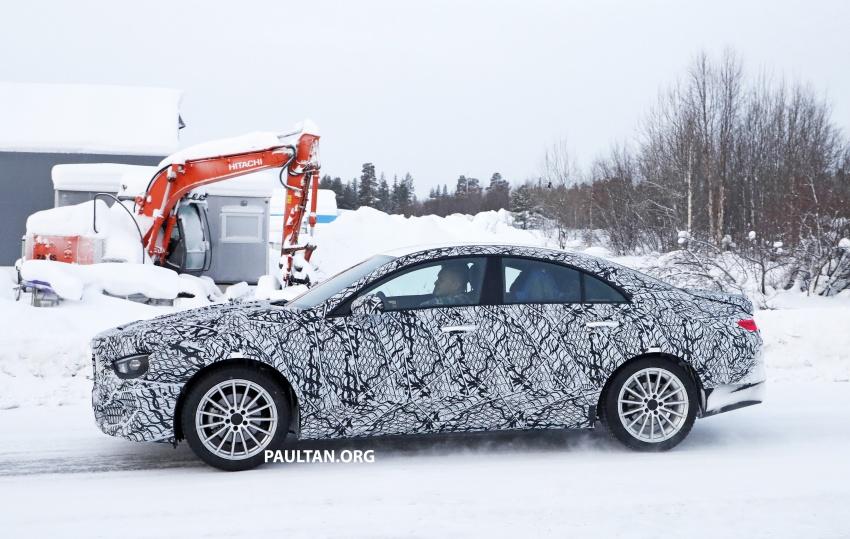 SPYSHOTS: Next-gen Mercedes-Benz CLA sighted Image #767001