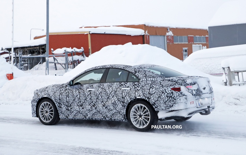 SPYSHOTS: Next-gen Mercedes-Benz CLA sighted Image #767003