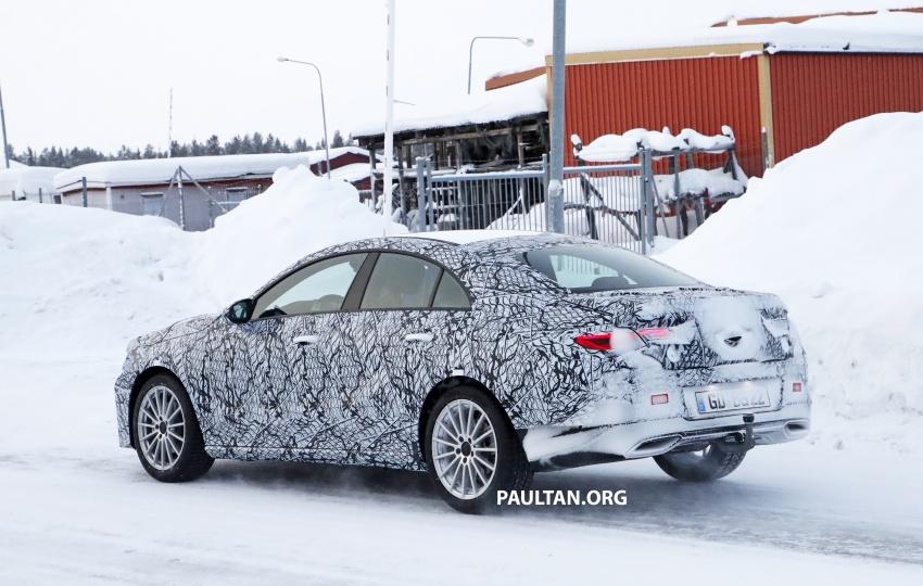 SPYSHOTS: Next-gen Mercedes-Benz CLA sighted Image #767004