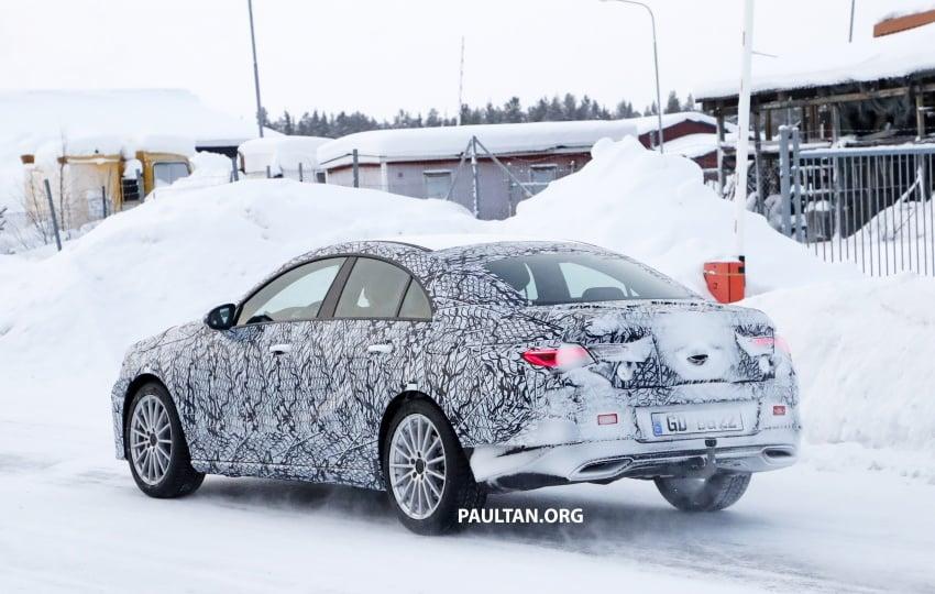 SPYSHOTS: Next-gen Mercedes-Benz CLA sighted Image #767006