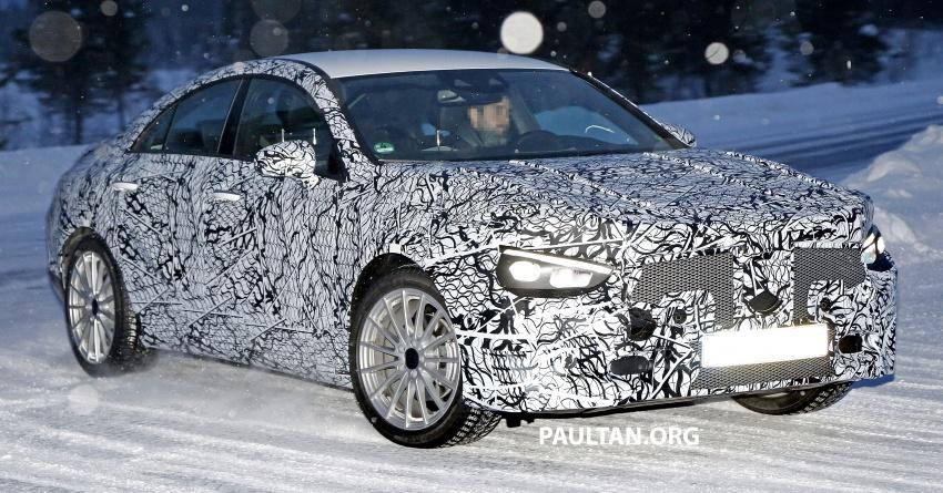 SPYSHOTS: Next-gen Mercedes-Benz CLA sighted Image #766392