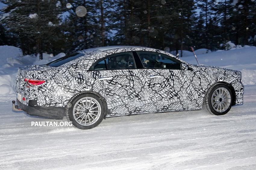 SPYSHOTS: Next-gen Mercedes-Benz CLA sighted Image #766395