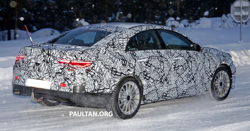 SPYSHOTS: Next-gen Mercedes-Benz CLA sighted Image #766396
