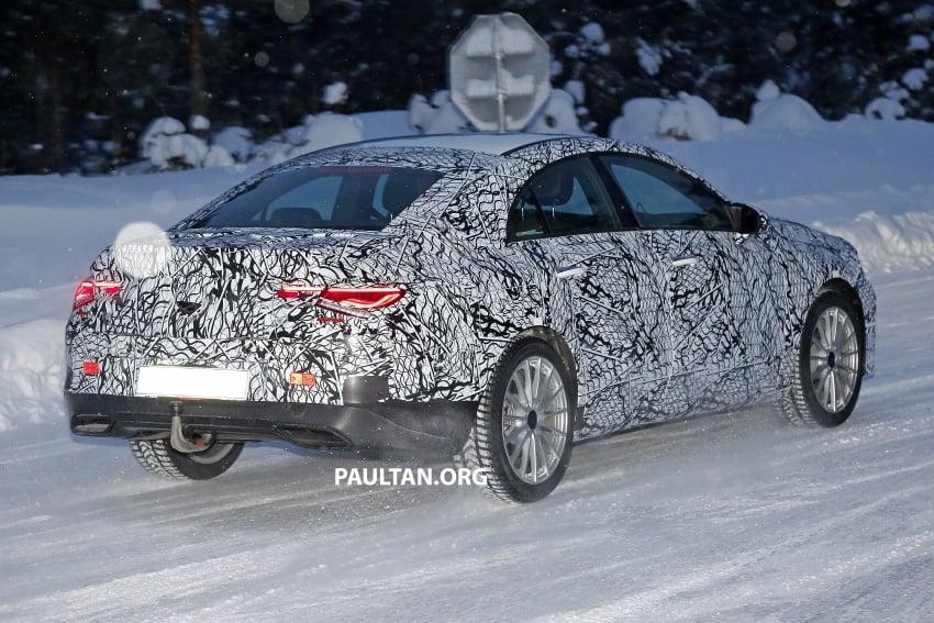 SPYSHOTS: Next-gen Mercedes-Benz CLA sighted Image #766397