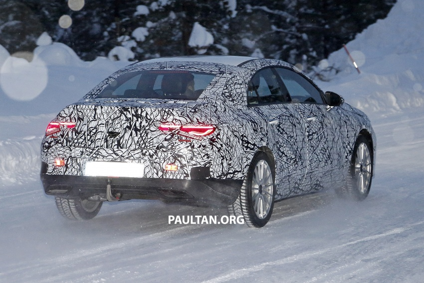 SPYSHOTS: Next-gen Mercedes-Benz CLA sighted Image #766398